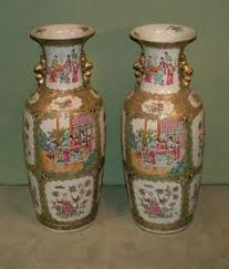 Antique Chinese Vases For Sale A Chinese Canton Famille Rose Porcelain Vase Sold 520 Chinese