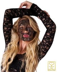 lace mask black lace collagen mask spa splurge collection