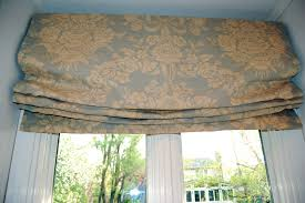 Mock Roman Shade Valance - decorating ideas delectable window treatment design along with