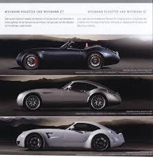 wiesmann 2009 wiesmann mf3 brochure