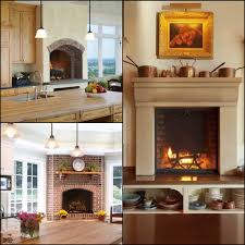 6 varieties of glowing kitchen fireplaces big chill