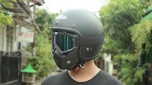 Helm Catok kreasi unik helm retro net24 aka