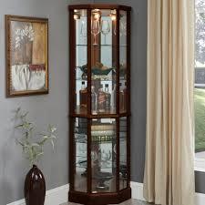 how to arrange a corner china cabinet franklyn corner lighted curio cabinet