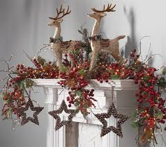 253 best mantel staircase garland ideas images on pinterest