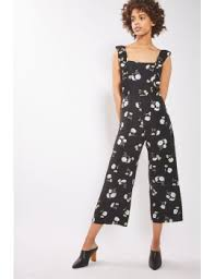 topshop jumpsuit shoptagr kate ruffle jumpsuit by nobody s child by topshop