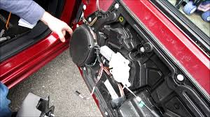 how to remove a door panel and speaker dodge avenger youtube