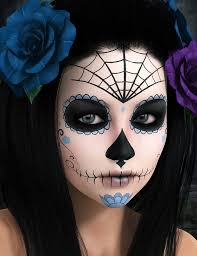 best 25 sugar skull makeup ideas on pinterest sugar skull