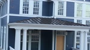 Standing Seam Metal Awning Roofing Metal Standing Seam Roof Details What Is A Standing
