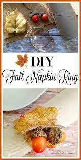 diy thanksgiving napkin ring