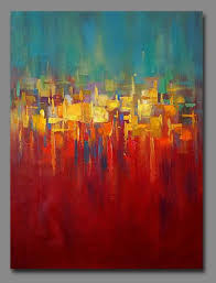 40 x30 contemporary original handmade abstract paintings