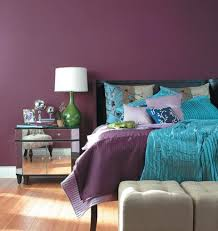 bedroom appealing purple bedroom designs with silver nightstand