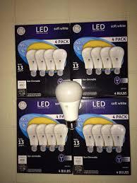 Led Light Bulbs Ebay by 2 X 2 Pack Philips 100w Equivalent Soft White A19 Led Light Bulb