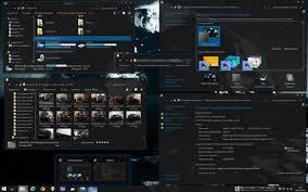 black themes windows 8 gray 2014 dark visual style windows 8 and 8 1 by ezio free