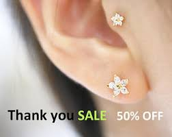 best place to buy cartilage earrings ear piercing etsy