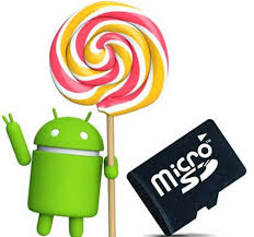 android to sd card lollipop bringing flexibility on restrictions of micro sd card