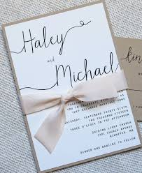 simple wedding invitations modern wedding invitation simple wedding invitation rustic