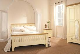 Painted Bedroom Furniture by Cream Bedroom Furniture With Oak Top Eo Furniture