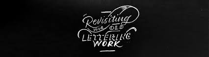 revisiting my old lettering work u2014 designate studio
