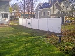 vinyl privacy fence installation poly enterprises