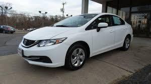used car 2014 taffeta white honda civic sedan lx for sale in north