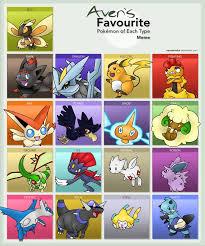 Pokemon Type Meme - favouite pokemon type meme by aven mochi on deviantart