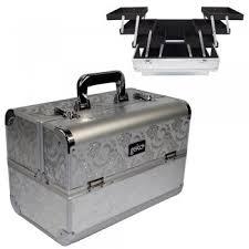 Vanity Box Geko Vanity Case Heavy Duty Silver Leaf Dennis Williams