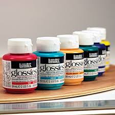 professional glossies paint black 2 oz jar liquitex com