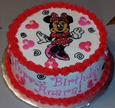 Red Minnie Mouse Cake Decorations Photo Gallery Birthday Cakes