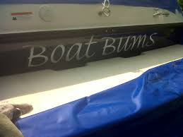 Boat Names by Vinyl Graphics Boat Names Team Nutz Technology
