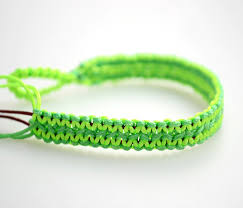 bracelet string images How to make neon string bracelet diy crafts handimania jpg