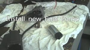 suzuki df70 marine outboard motor electric fuel pump replace youtube