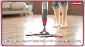 Best Mops For Laminate Floors Rubbermaid Reveal Video Youtube