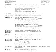 academic resume template for college resume template undergraduate format curriculum vitae pdf student