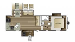 Cougar 5th Wheel Floor Plans Keystone Cougar Xlite 28rks 5th Wheel Sales
