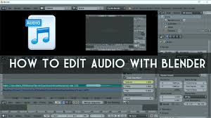 tutorial video editing blender tutorial editing audio in the video sequence editor vse