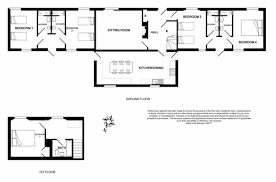 ground plan accessibility limecombe holiday cottage exmoor national park