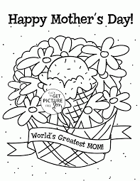 mom coloring pages world u0027s greatest mom mother u0027s day coloring page for kids