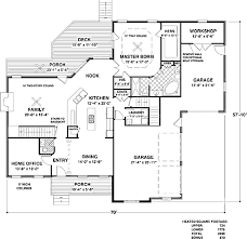 House Plans With Angled Garage Traditional Style House Plan 4 Beds 3 50 Baths 2499 Sq Ft Plan