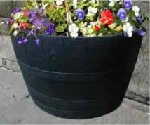 Half Barrel Planter by Garden Design Garden Design With Pl Box Oak Wine Barrel Planter U