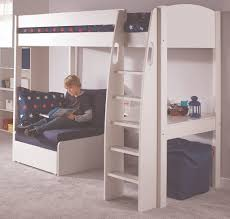 Cabin Beds With Sofa by Fancy High Sleeper Bed With Desk And Sofa Bed 73 In Churchfield