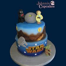 starwars cakes 2 tier wars cake johnnie cupcakes