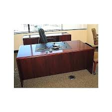 Cherry Desk Organizer Executive Wood Desk Used Executive Cherry Wood Desk Credenza