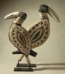 abelam birds figures galerie flak
