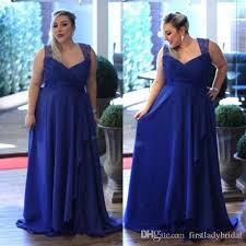 cheap royal blue bridesmaid dresses 2017 royal blue plus size bridesmaid dresses chiffon a line