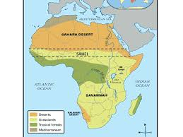 sahel desert map ss7g1 the will locate selected features in africa a