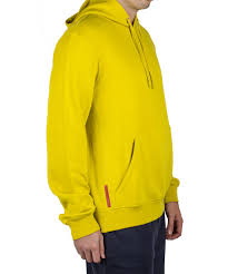 cost effective prada yellow clothing prada cotton hooded