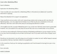 marketing officer cover letter images cover letter sample