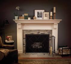 fireplace mantels decor colors design interior exterior homie