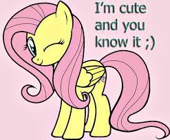 Mlp Fluttershy Meme - cute winking fluttershy my little pony friendship is magic know