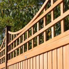 grange bow top wooden trellis panel 0 56m internet gardener